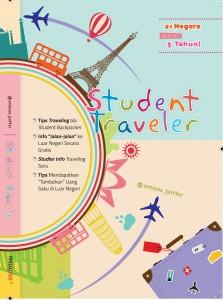 Cover Depan Student Traveler
